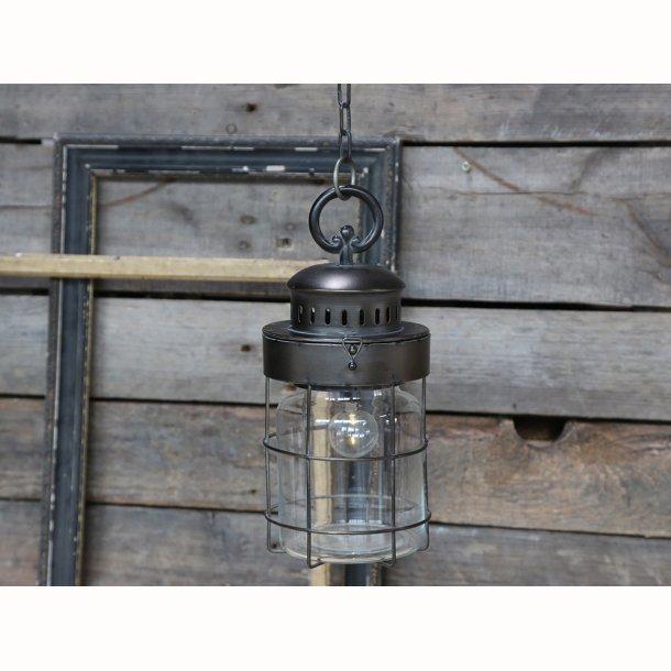 Fransk stald lanterne m. kæde
