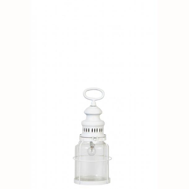Lanterne LED hvid