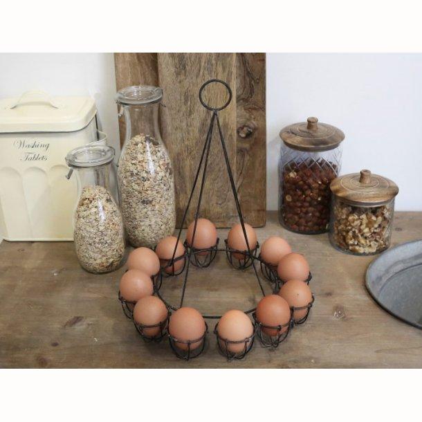 Æggeholder til 12 æg