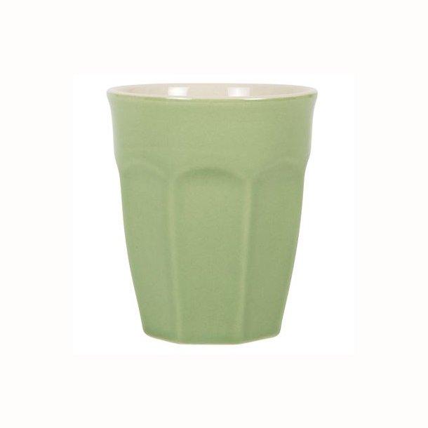 Cafe latte krus Mynte Meadow Green