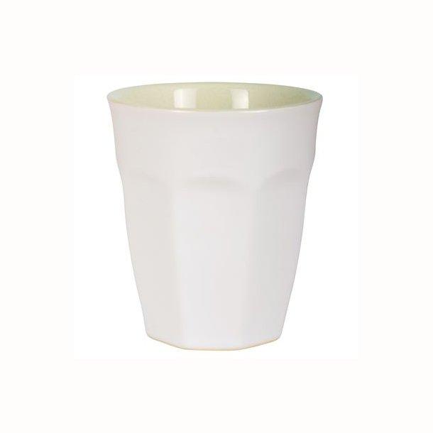 Cafe latte krus Mynte Pure White