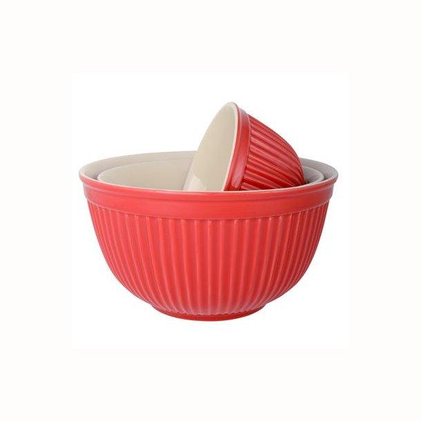 Bowlesæt a 3 Mynte Strawberry