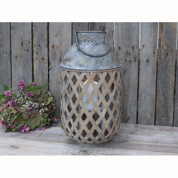 Fransk lanterne bambus