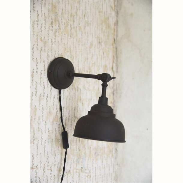 Væglampe - Justerbar - Metal