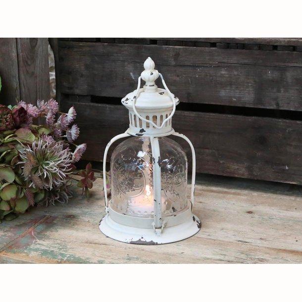 Lanterne antique creme