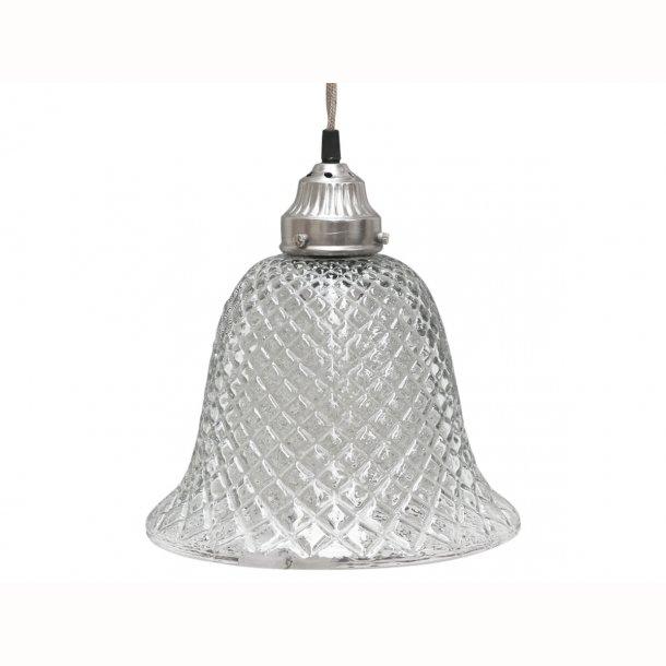 Lampe glasklokke