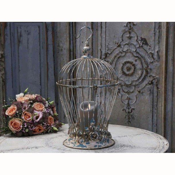 Fuglebur med rosen decor
