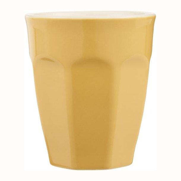 Cafe latte krus Mynte Mustard