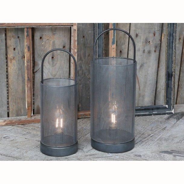 Lanterne inkl. pære og timer
