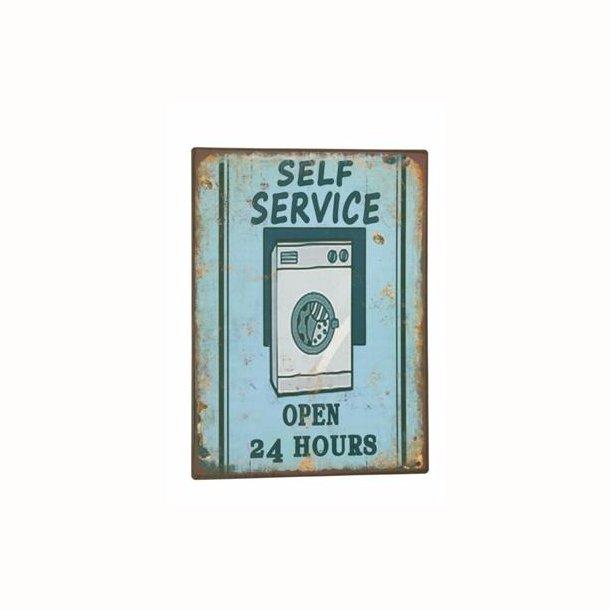 Skilt - Self service