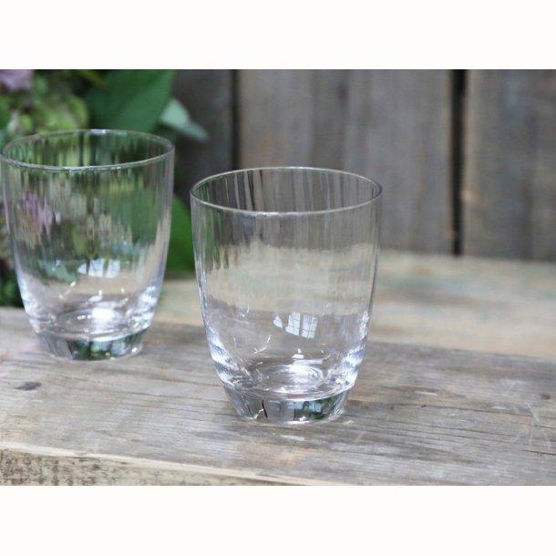 Massy Vandglas m. riller 2 stk