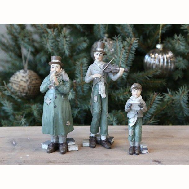 Vintage Juleorkester sæt af 3