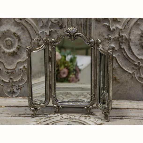 Fransk 3- fløjet spejl