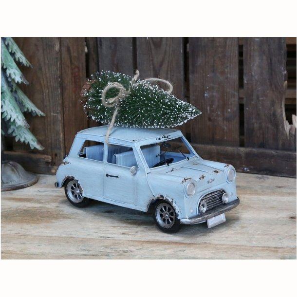 Vintage Bil med juletræ